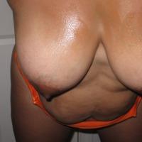 Medium tits of a neighbor - Angel 43