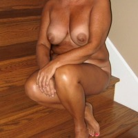 Very small tits of a neighbor - gorgeous milf