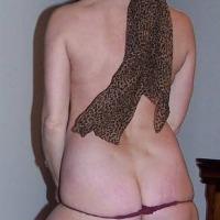 My wife's ass - CC