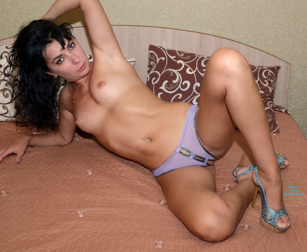 My Little Panties - Brunette Hair, Heels