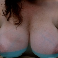 Large tits of my wife - Gail