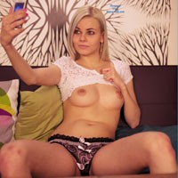 Spare Time - Blonde Hair, Perfect Tits