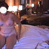 Medium tits of my wife - HOT MOMMA