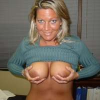 Large tits of a neighbor - Carrie