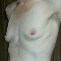 Small tits of my wife - jen