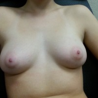 Small tits of my girlfriend - Emily