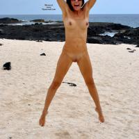 Katia Kits Hot Body - Brunette Hair, Nude Outdoors, Shaved