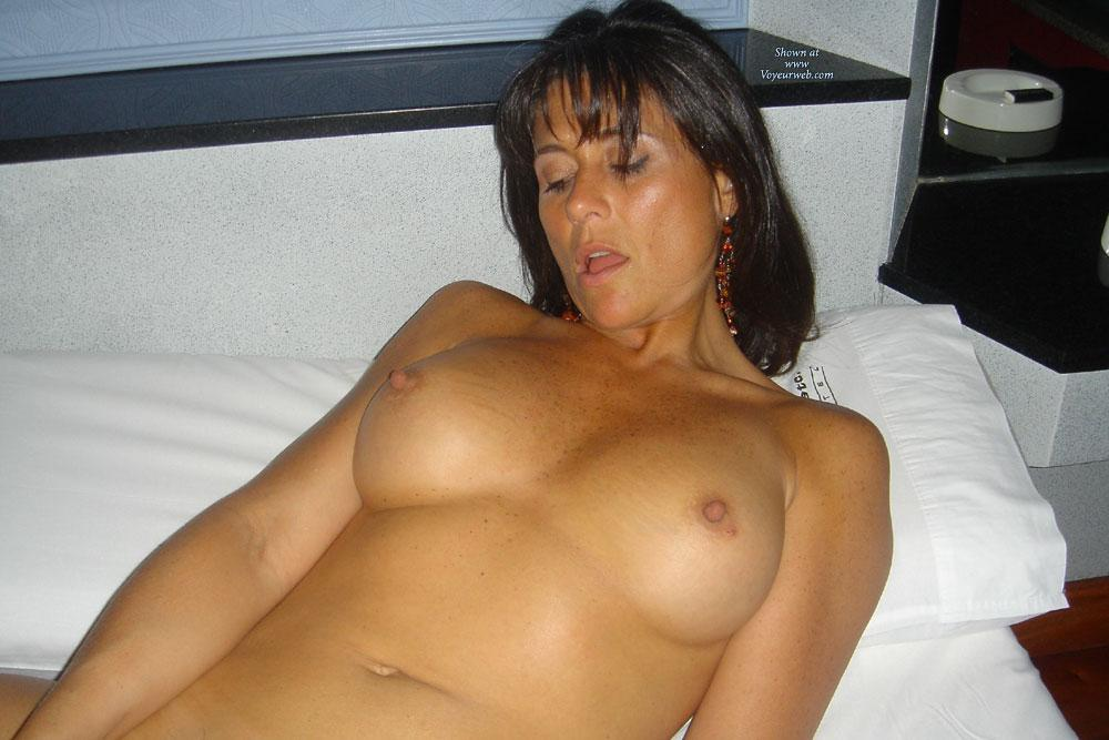 Pic #1 - Italy - Big Tits, Brunette Hair, Hairy Bush , From NAPOLI