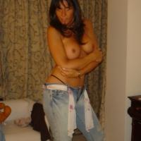 Medium tits of a neighbor - Shila