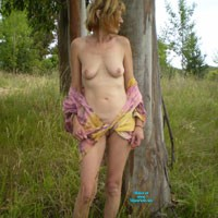Outside Nudity - Medium Tits, Nature