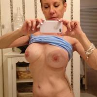 Medium tits of my girlfriend - Becky