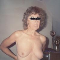 Medium tits of my wife - susie