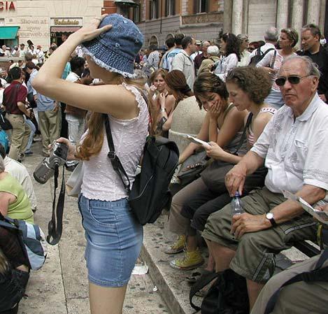 Pic #7 - Flashing In Rome