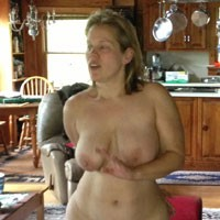 Jen Exposed For The First Time - Big Tits, Naked Blonde