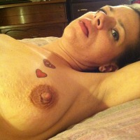 Small tits of my wife - wife