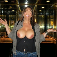 Very large tits of my wife - Mandy
