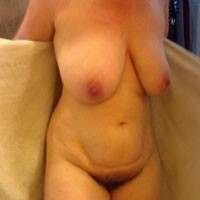 Before and After Shower - Big Tits