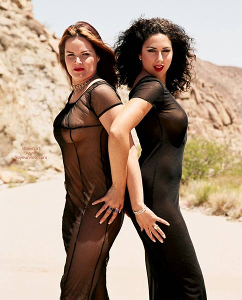 Pic #1 - Isis And Rio In The Desert