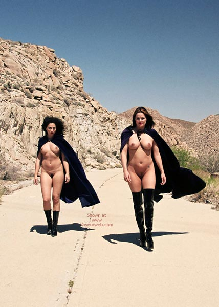 Pic #5 - Isis And Rio In The Desert