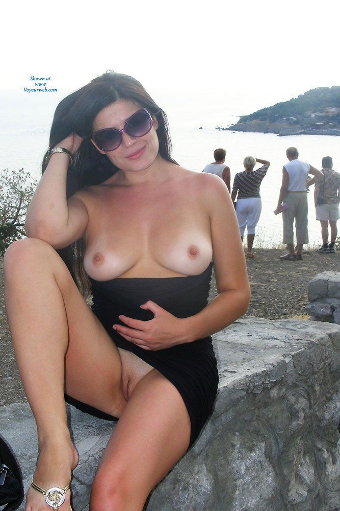Pic #4 Viko - Summer's Gone - Brunette, Flashing, Public Exhibitionist, Public Place, Shaved