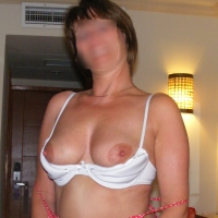 Medium tits of my wife - mrs potter