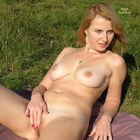 North Downs Walk - Big Tits, Natural Tits, Redhead