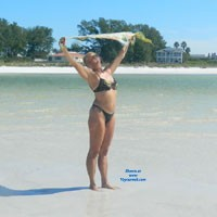 Anna Maria Island, October 2013 - Firm Ass, Wet, Beach, Bikini Voyeur, Wife/Wives, Mature