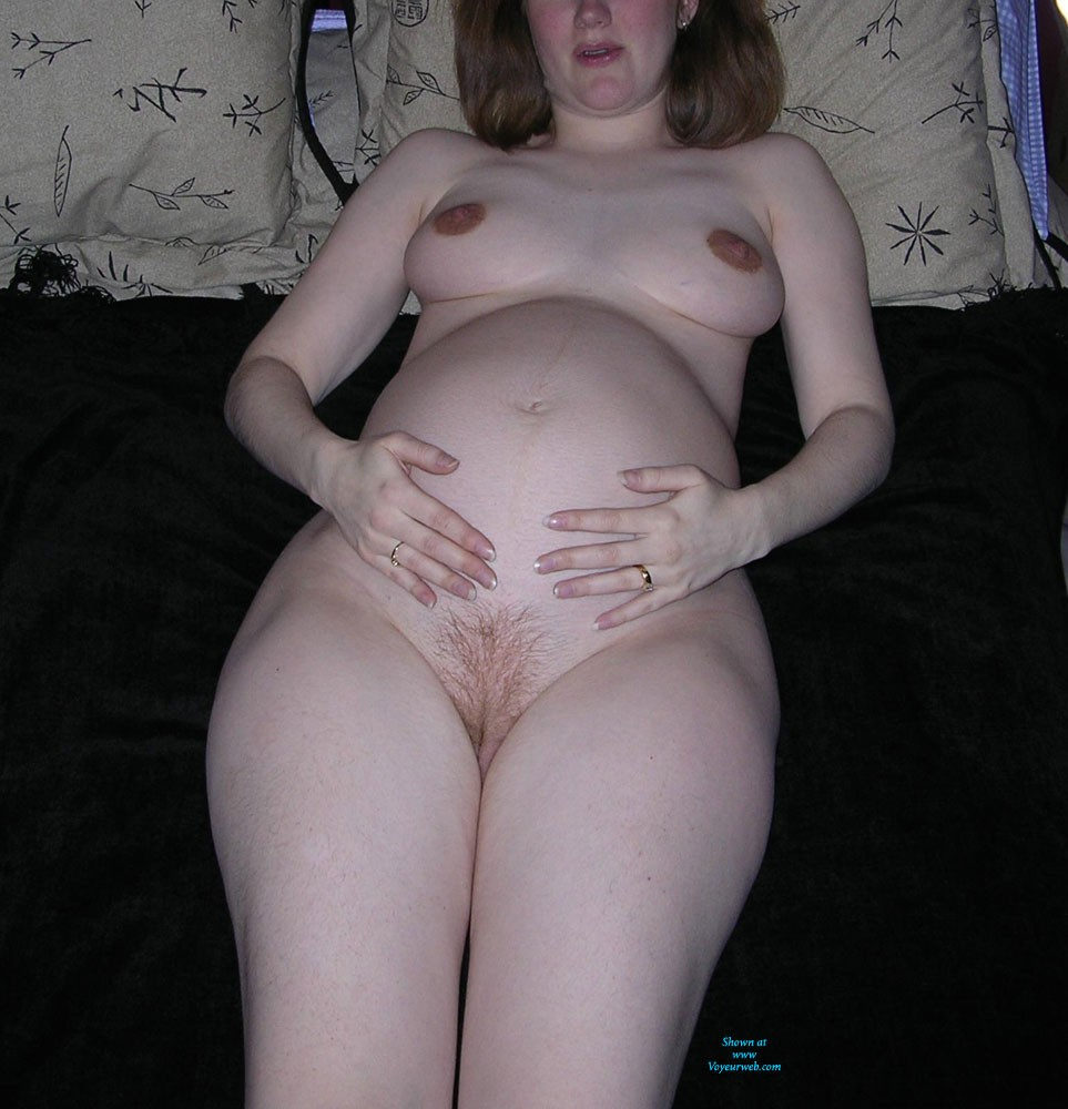 Pic #4 Hot Pregnancy Pics - Bush Or Hairy, Big Tits