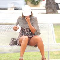 Short Tease - Public Place, Flashing