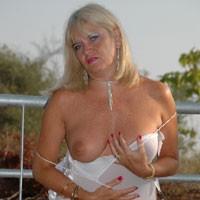 Hanging Around - Big Tits, Blonde, Lingerie