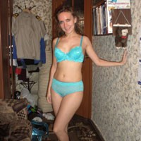 Nadya From Vladivostok 3 - Brunette, Lingerie