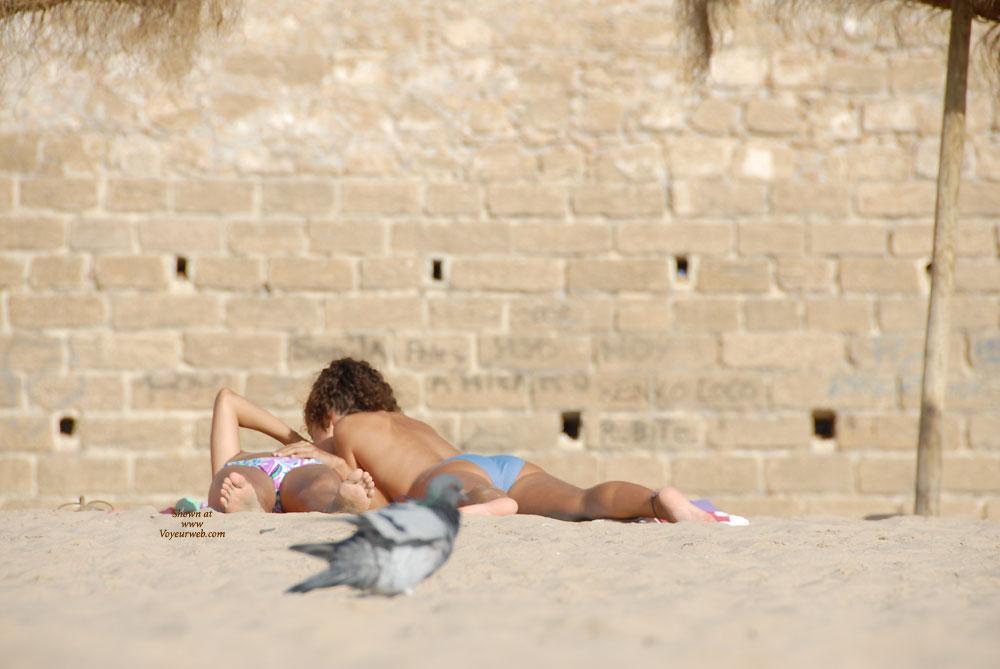 Pic #3 Lesbians - Beach
