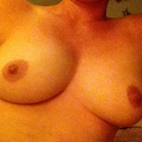 Medium tits of my wife - Jenny