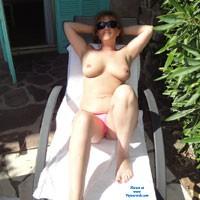 Enjoying The Sun - Big Tits, Medium Tits, MILF, Natural Tits, Outdoors
