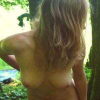 Waldgeist - Outdoors, Shaved, Small Tits, Blonde