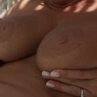 Very large tits of my girlfriend - Jen