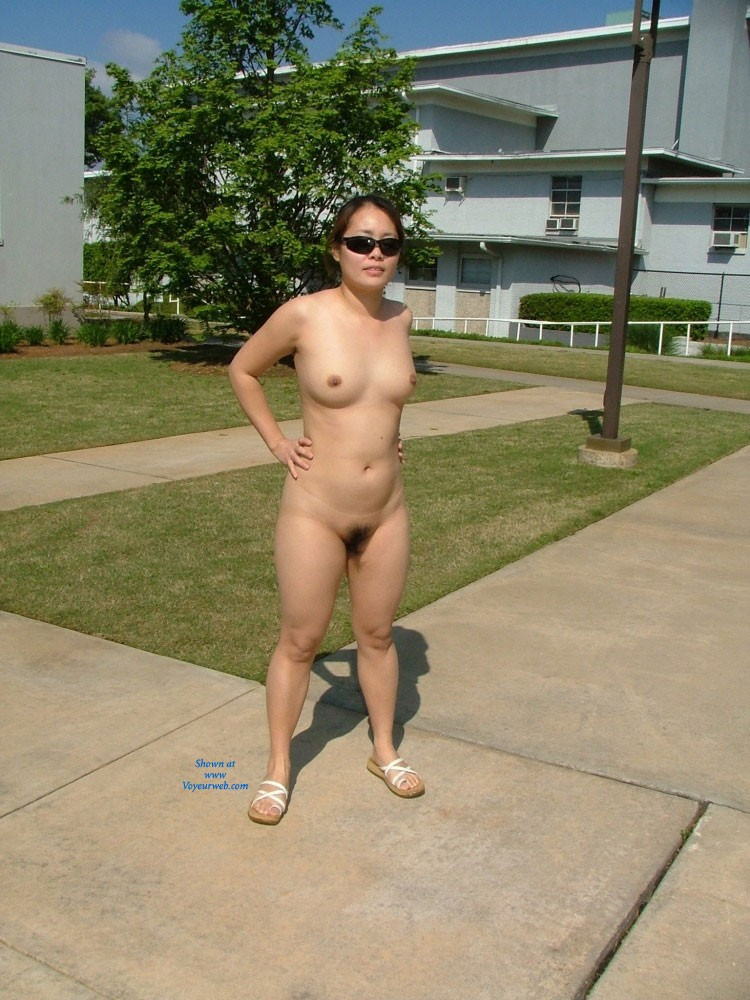Pictures of naked on campus