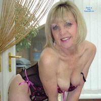 Sexy Joy - Medium Tits, Mature, Amateur, Blonde, Lingerie