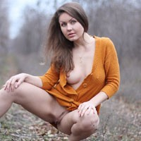 Nicole - Big Tits, Brunette Hair, Nude In Public