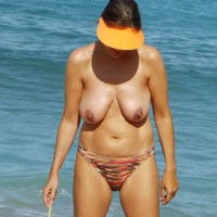 Beach Topless - Beach, Big Tits, Wife/Wives, Mature
