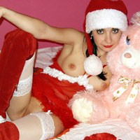 Merry Christmas! - Brunette Hair, Costume, Young Woman