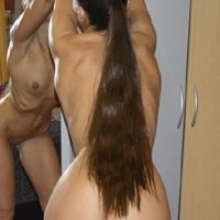 My Sexy Ass 2 - Round Ass, Shaved, Small Tits, Young Woman