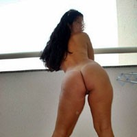 Angela From Brazil - Brunette, Round Ass, Big Ass