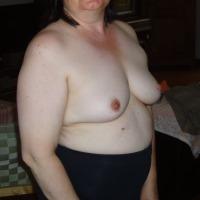 Medium tits of my wife - Celine
