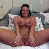 Very large tits of my ex-wife - Angel