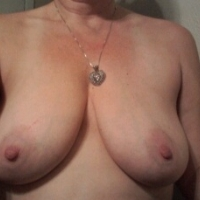 Large tits of my wife - EX Wife