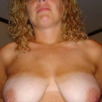 Large tits of my wife - P