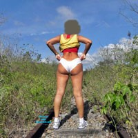 Sílvia Brazil: Off Rails - Gravatá City - Nature, Big Tits, Big Ass