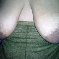 My extremely large tits - nonok