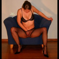Masturbation Under Pantyhose - Heels